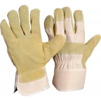 Кожаные перчатки из коровьей кожи размер 10