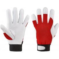 Перчатки из кожи Nappa Elysee® размер 8